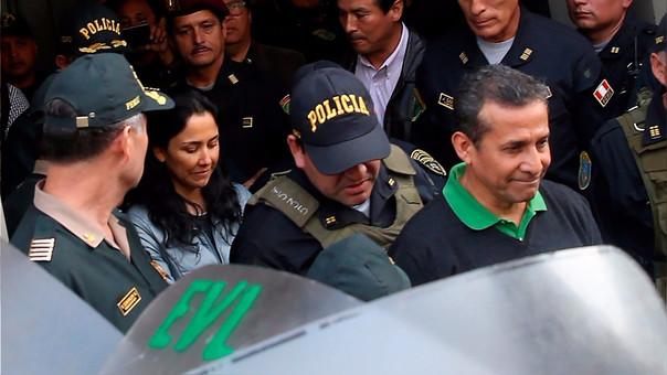 Ollanta Humala y su esposa Nadine Heredia cumplen una prisión preventiva de 18 meses por lavado de activos.