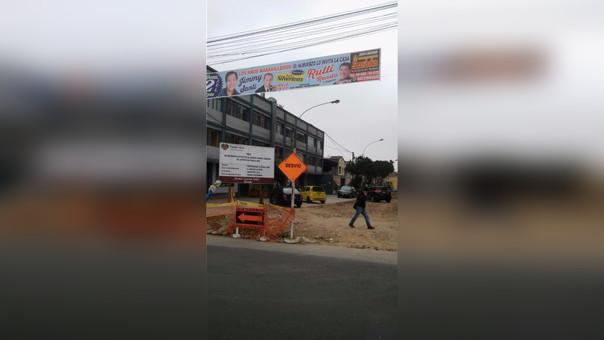 Caos vehicular en Pueblo Libre