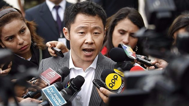 El congresista Kenji Fujimori Higuchi.