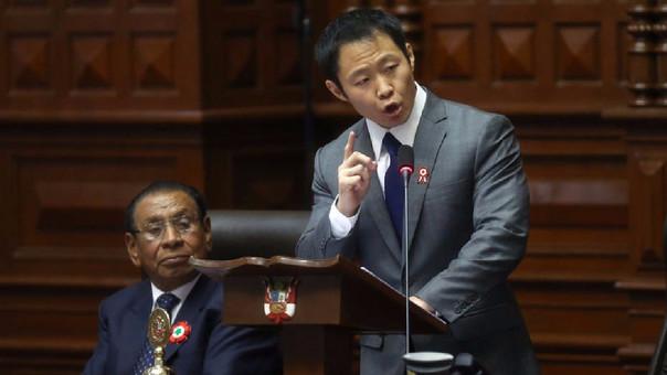 Kenji Fujimori es el hermano menor de Keiko, la lideresa de Fuerza Popular, y el congresista más votado de los 71 de su bancada.