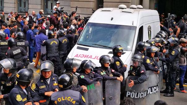 Humala y Heredia fueron trasladados a los penales el pasado viernes.