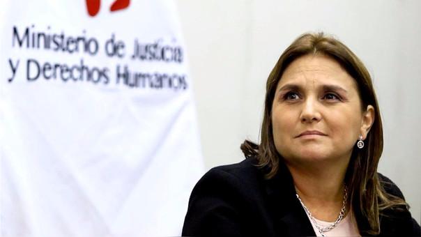 Marisol Pérez Tello es ministra de Justicia desde el inicio del gobierno de PPK. Antes fue congresista por el PPC.
