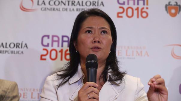 Keiko Fujimori respaldó a Julia Príncipe y Katherine Ampuero