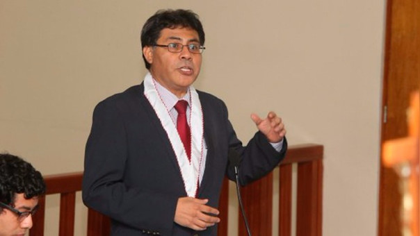 El fiscal de Lavado de Activos, Germán Juárez Atoche.