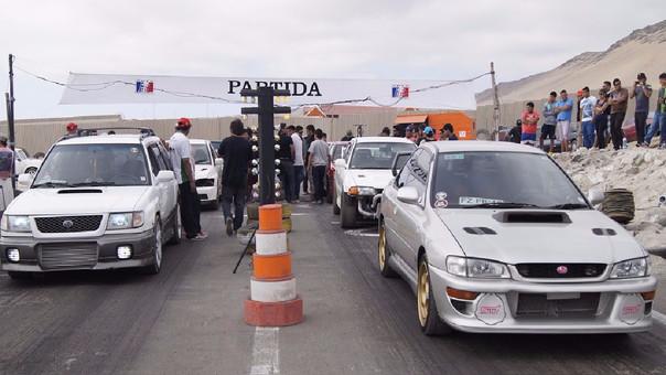Carrera de piques en Chiclayo