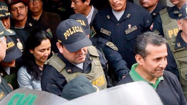 Ollanta Humala y Nadine Heredia se encuentran recluidos desde el 14 de julio de 2017.