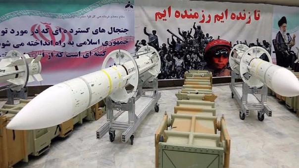 a mediados de junio, Irán disparó por primera vez en décadas fuera de su territorio seis misiles balísticos de tipo tierra-tierra.