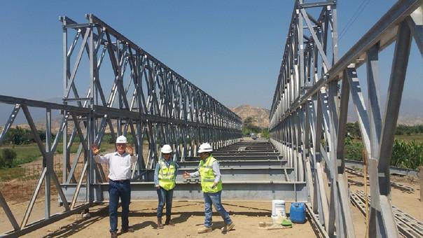 Puente Bailey en Chongoyape