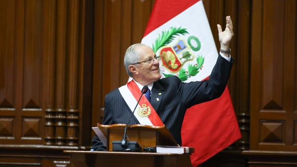 Pedro Pablo Kuczynski inició su segundo año de gobierno.