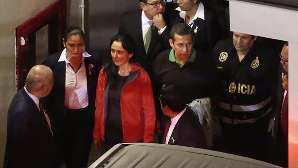 Ollanta Humala, expresidente y Nadine Heredia, exprimera dama.