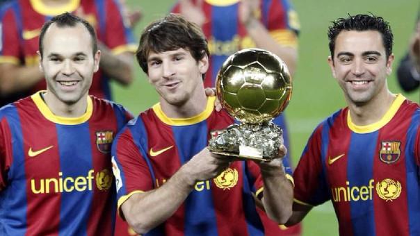 El problema de La Masia es Messi, Xavi o Iniesta