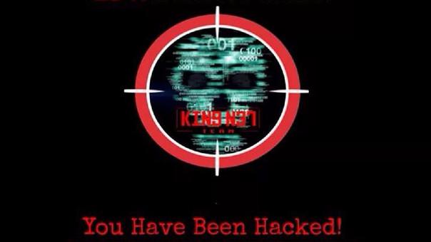 Página hackeada