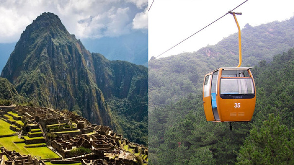 Se evalúa implementar teleférico para mejorar el acceso a Machu Picchu, informó el Mincetur.