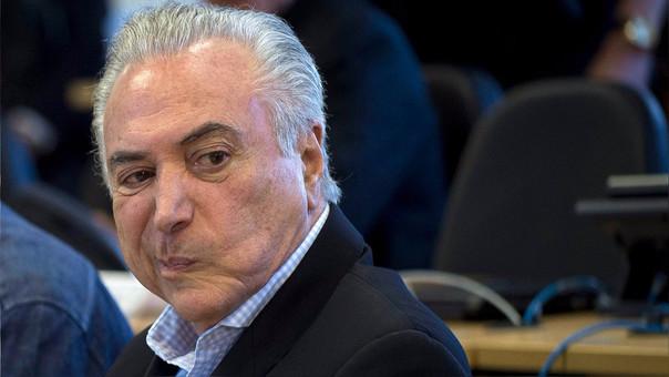 Michel Temer llegó a la presidencia de Brasil tras la destitución de Dilma Rousseff.