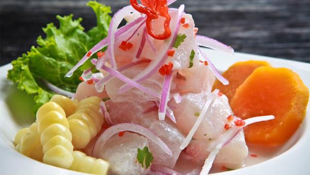 El ceviche de pescado es el segundo plato más demandado por los visitantes extranjeros, con el 70% de las preferencias.