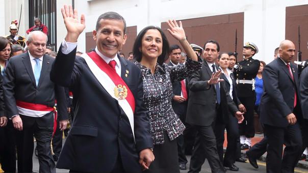 Ollanta Humala y Nadine Heredia.