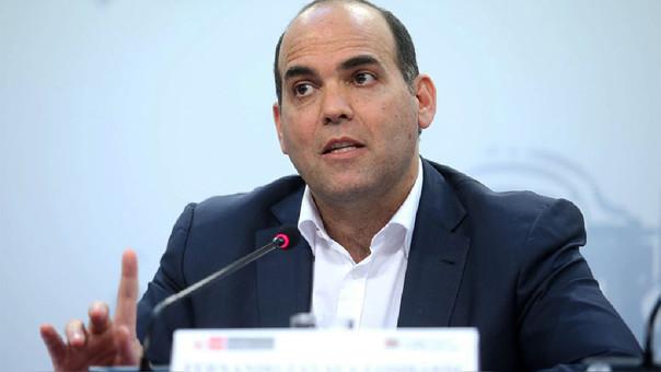 El ministro de Economía, Fernando Zavala, señala que las perspectivas económicas mejoran para el segundo semestre del año.