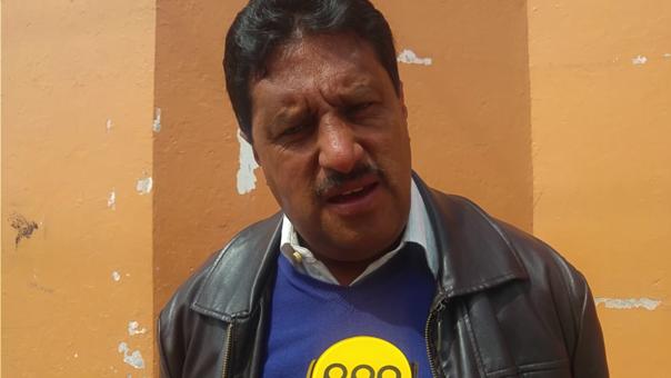 Edwin Zafra Director colegio Uriel García