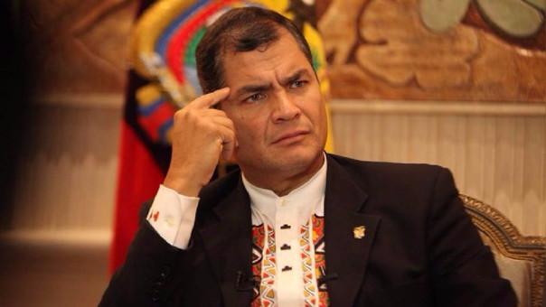 Rafael Correa fue presidente en Ecuador entre 2007 y 2016.