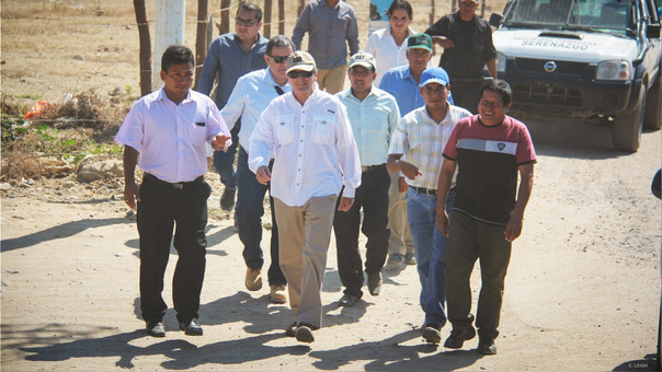 Pablo de La Flor está desarrollando actividades en Tumbes y Piura.