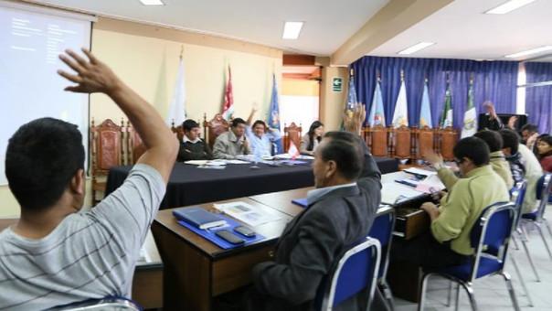 El Consejo Regional de Cajamarca pidió al Poder Ejecutivo cumplir con el pliego de reclamos de los docentes en huelga