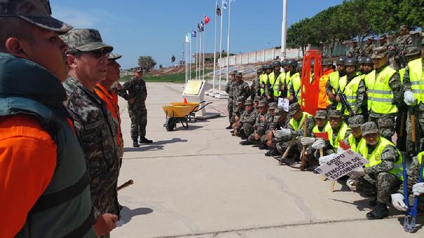 Hacen llamado a jóvenes para enrolarse a las filas del ejército