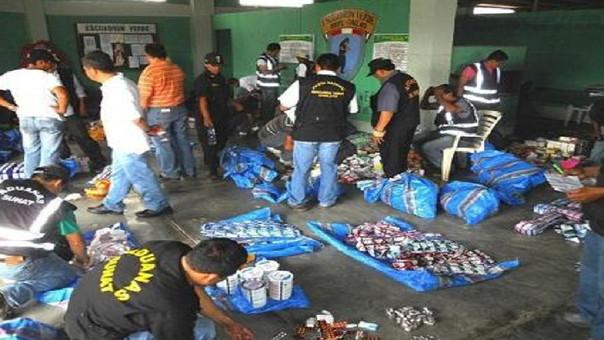 Decomiso de mercadería de contrabando