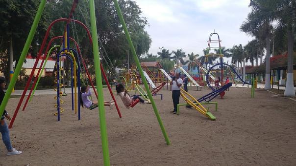 Reabren parque infantil de Chiclayo
