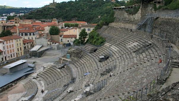 Anfiteatro romano en Vienne, Francia