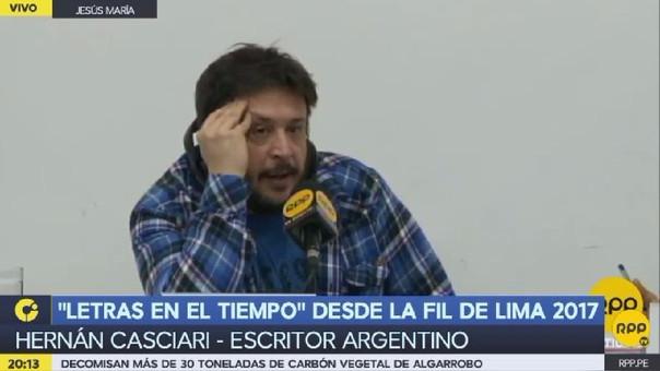 El periodista y escritor argentino Hernán Casciari.