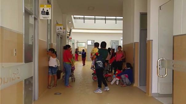 Atención en centro de salud es con normalidad.