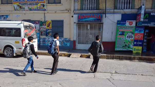 Escolares Chanchamayo