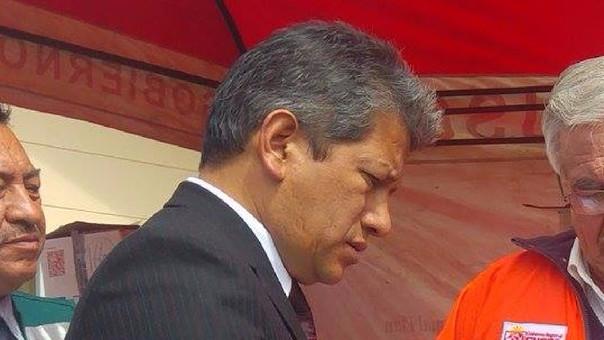 Eduardo Zans Loayza gerente general Gobierno Regional Cusco