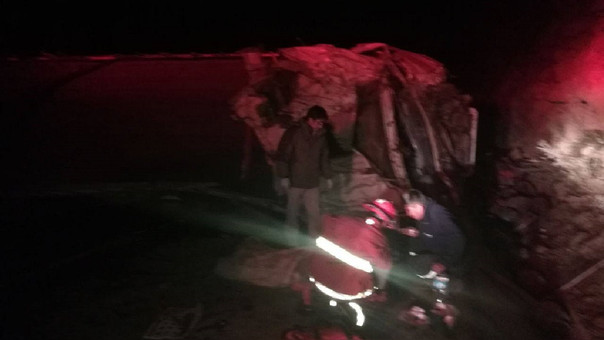 Accidente carretera Arequipa Puno