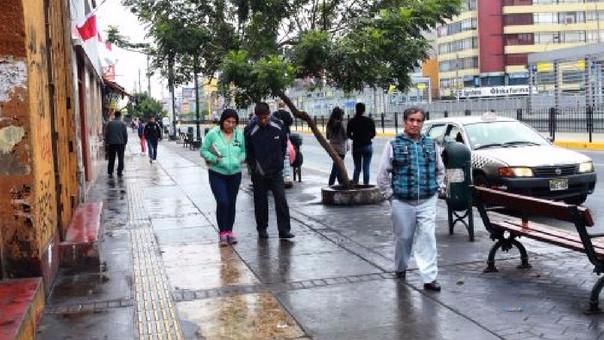 Las lloviznas continuarán en Lima.