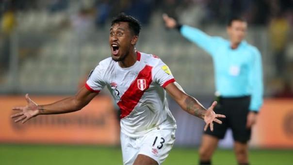 Renato Tapia tiene un gol con la Selección Peruana en las Eliminatorias Rusia 2018.