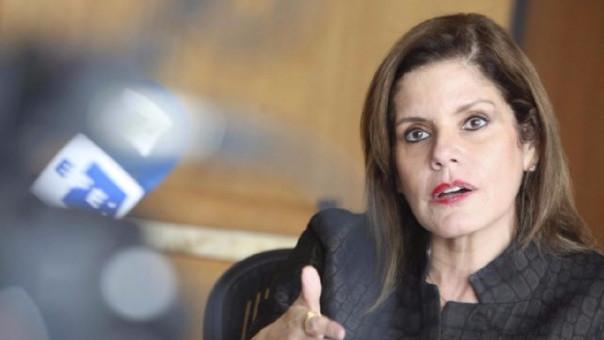 Mercedes Aráoz, segunda vicepresidenta de la República.