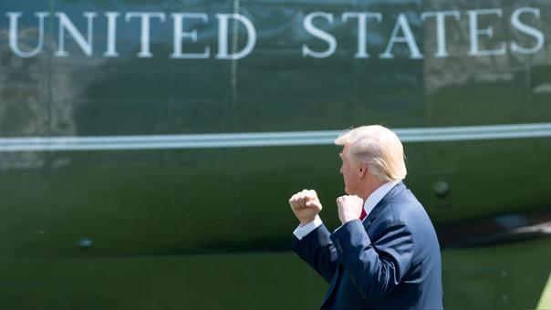 US-POLITICS-TRUMP-DEPARTS