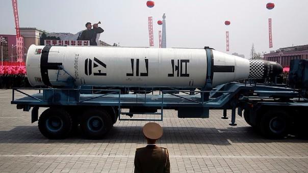 Corea del Norte muestra al mundo su potencia militar.