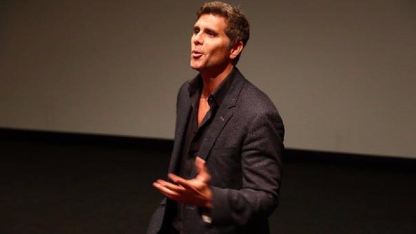 Christian Meier agradeció a los organizadores del Festival de Cine de Lima por proyectar su ópera prima.