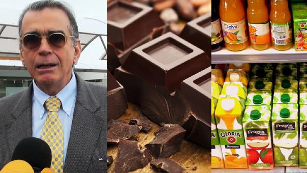 El titular del Produce, Pedro Olaechea, afirmó que los reglamentos del chocolate, jugos y golosinas no afectarán a la industria ni a lo precios.