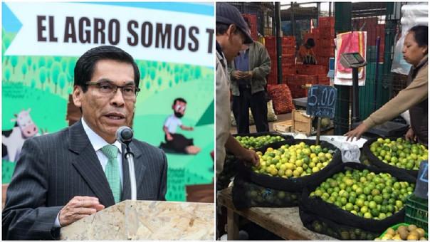 El ministerio y ha señalado que el fuerte alza del precio del kilo de limón que se registra desde hace semanas en Lima y Callao responde en parte a la especulación.