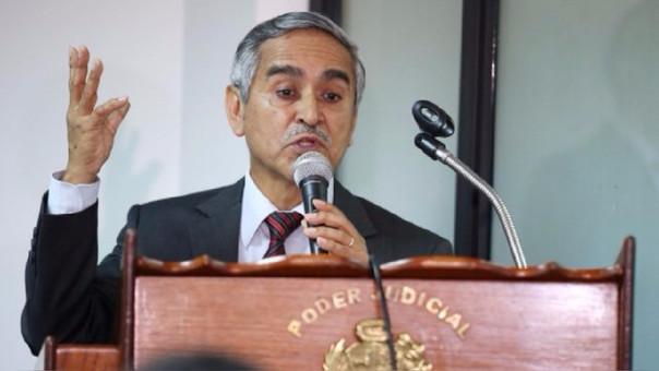 Duberlí Rodríguez, presidente del Poder Judicial.
