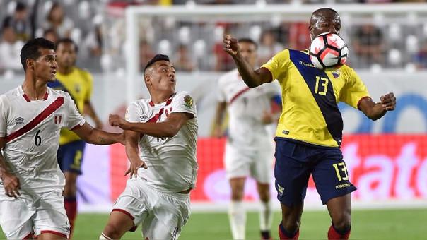 El duelo entre Ecuador vs. Perú será arbitrado por el paraguayo Enrique Cáceres.