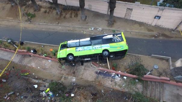 El bus de la empresa se desbarrancó el 9 de julio.