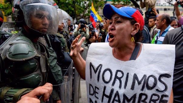 La crisis en Venezuela ha provocado la escasez de alimentos.