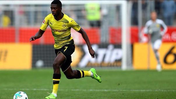 Ousmane Dembélé también estuvo en la mira del Arsenal y del Manchester City.