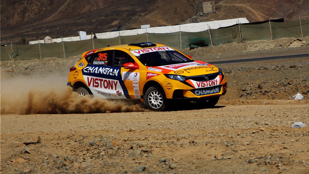 Changan Rally Team Y Mario Hart Regresan Recargados Changan Rally Team Y Mario Hart Regresan Recargados