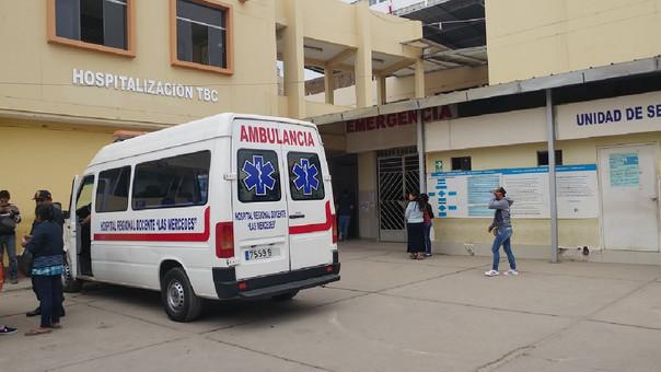 Reos llevados a hospital de Lambayeque