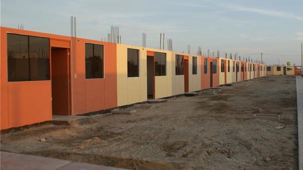 Familias sin título de propiedad damnificadas por El Niño podrán acceder a bono de reconstrucción de Techo Propio.